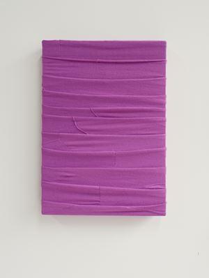 Monochrome (Purple) by Angela De La Cruz contemporary artwork