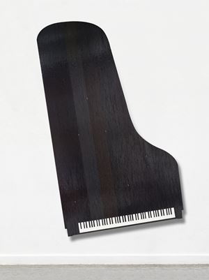 Piano by Gregor Hildebrandt contemporary artwork