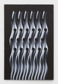 Modulation TC 210 by Julio Le Parc contemporary artwork painting