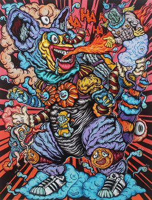 Don't Block My Way by Shafiq Nordin contemporary artwork