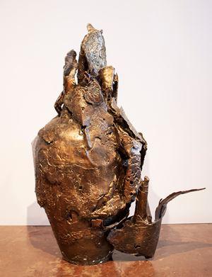 Matrix IV by Mrinalini Mukherjee contemporary artwork sculpture