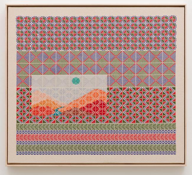 I Tell the Sun's Story by Jordan Nassar contemporary artwork