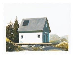 Island Studio/Quiet Afternoon by Bo Bartlett contemporary artwork