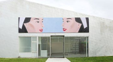 Contemporary art exhibition, Alex Katz, West Broadway and Spring at Timothy Taylor, London