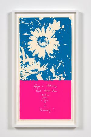 i in daisy by Corita Kent contemporary artwork