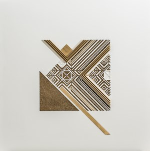 Moon Feather - Wihdeh Collection by NAQSH Collective contemporary artwork