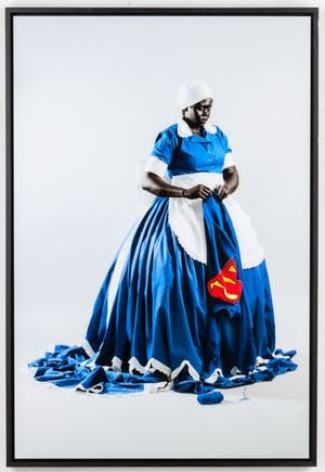 They Don't Make Them Like They Used To by Mary Sibande contemporary artwork