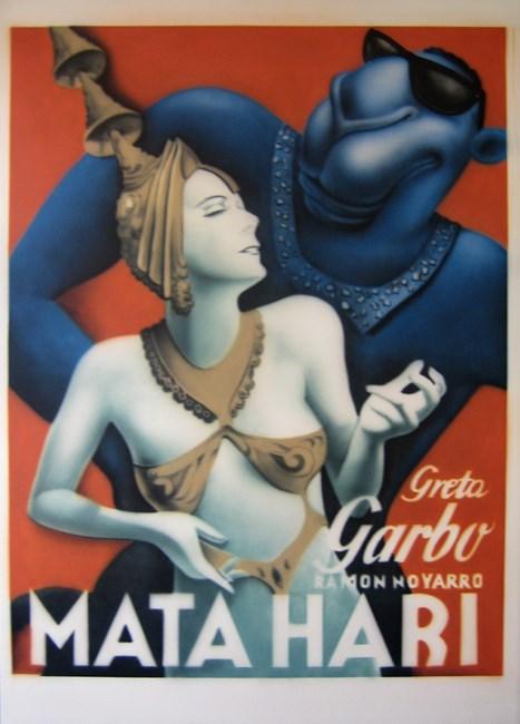 Mata Hari by Zhou Tiehai contemporary artwork
