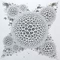 Vestige (space-silver) by Kim Jaeil contemporary artwork 1