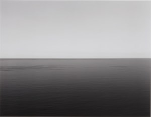 English Channel, Weston Cliff by Hiroshi Sugimoto contemporary artwork