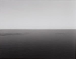 English Channel, Weston Cliff by Hiroshi Sugimoto contemporary artwork photography