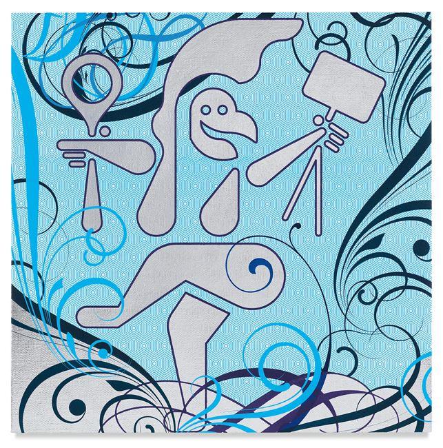 Mindscape 30 by Ryan McGinness contemporary artwork
