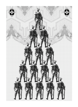 The Expansion of the First Great Ornamental Age: Hierarchy by Seher Shah contemporary artwork
