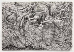 Rock Landscape #1 by Shi Jin-Hua contemporary artwork