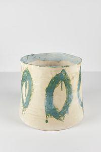 Untitled Large Planter 8 by Rashid Johnson contemporary artwork ceramics
