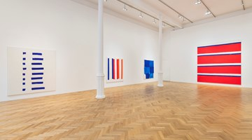 Contemporary art exhibition, Beth Letain, Signal Hill at Pace Gallery, London