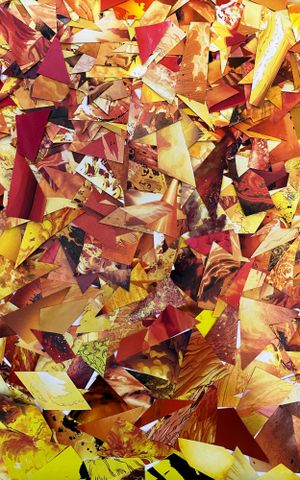 Fire by Christian Marclay contemporary artwork