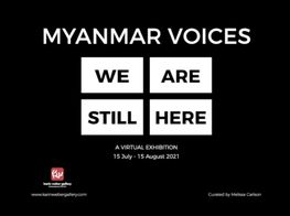 Myanmar Voices: We Are Still Here | Promotional Video