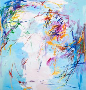 A mild spring night No.1 by Wang Xiyao contemporary artwork