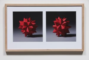 Imperfections – Two Times Frontal in Heat by Haegue Yang contemporary artwork