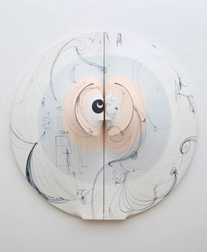 Lunar con Tatuaje by Zilia Sánchez contemporary artwork