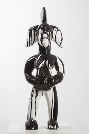 Mutus Liber (Fetish) 7880 by Kendell Geers contemporary artwork