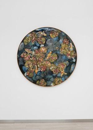Water Lilies II by Ugo Schildge contemporary artwork
