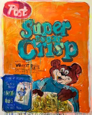Big Cereal no.1 by Kinjo Toshiki contemporary artwork