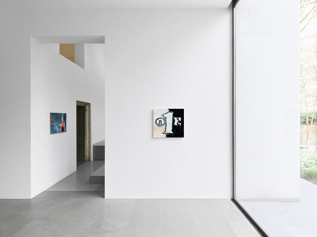 Exhibition view: Walter Swennen, Un Cœur Pur, Xavier Hufkens, 6 rue St-Georges, Brussels (1 March–13 April 2019). Courtesy Xavier Hufkens. Photo: Allard Bovenberg, Amsterdam.