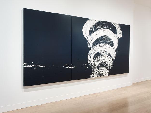 Exhibition view: Fabienne Verdier, Vortex, Waddington Custot (6 October–17 November 2020). Courtesy Waddington Custot.