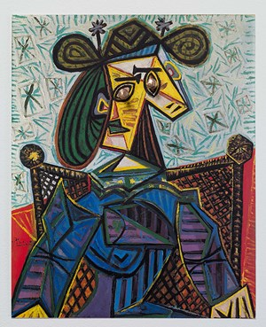 Picasso with pushpin #8 by Ken Kagami contemporary artwork