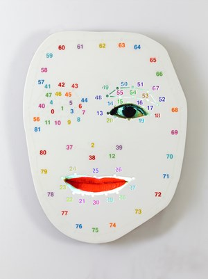 TER3 by Tony Oursler contemporary artwork