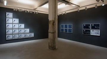 Contemporary art exhibition, Robin Rhode, having been there at Lehmann Maupin, Hong Kong