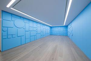 de-finition/method 164: covering 1 / dé-finition/méthode 164: recouvrement 1 by Claude Rutault contemporary artwork