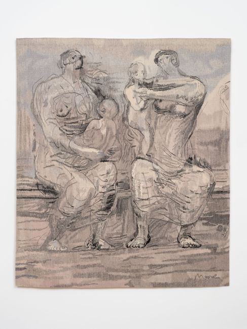 Two Seated Women by Henry Moore contemporary artwork
