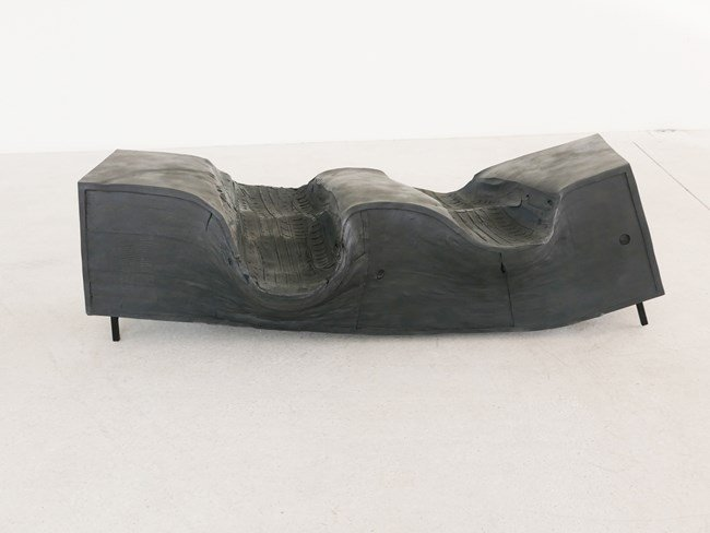 Muddy Earth by Erwin Wurm contemporary artwork