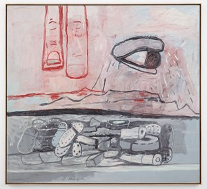 Above and Below by Philip Guston contemporary artwork