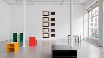 Contemporary art exhibition, Donald Judd, Furniture at Galerie Greta Meert, Brussels
