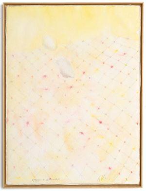 """Untitled (from the series """"Muitos estudos para uma casa de limão"""") by Pier Paolo Calzolari contemporary artwork"""