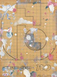 No by Harland Miller contemporary artwork painting, works on paper, drawing