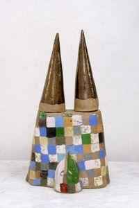 Chateau by Johanna Schweizer contemporary artwork sculpture, ceramics