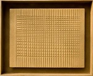Gold-Sand-Relief by Heinz Mack contemporary artwork