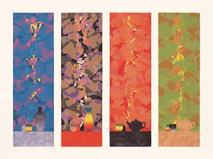 Four SeasonsⅠⅡⅢⅣ by Liao Shiou Ping contemporary artwork
