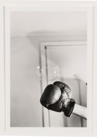 Untitled: Boxing Glove and Bubble Series by Rose Finn-Kelcey contemporary artwork photography