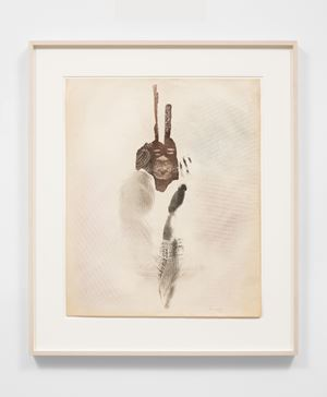 Untitled (Spirit Face) by David Hammons contemporary artwork