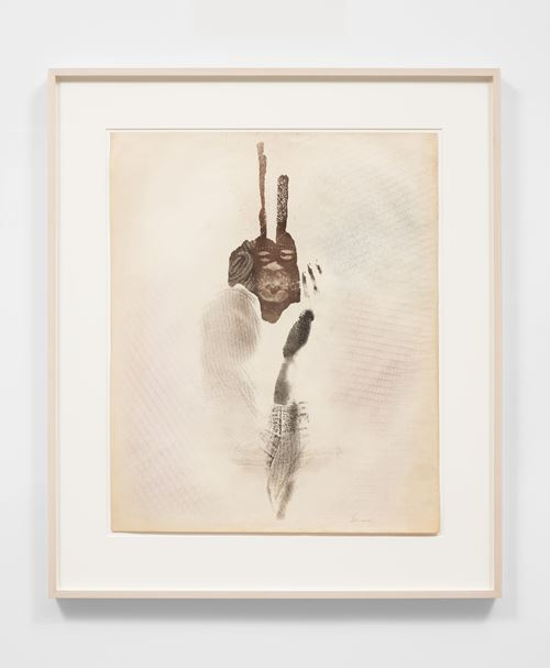 Untitled (Spirit Face) by David Hammons contemporary artwork