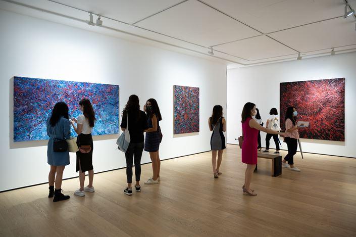 Exhibition view: Ren Sihong,Enlightenment, Whitestone Gallery, Hong Kong (5 September–17 October 2020). Courtesy Whitestone Gallery, Hong Kong.