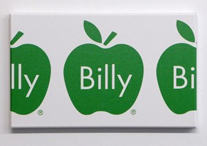 Billy Apple Frieze (Green) by Billy Apple contemporary artwork