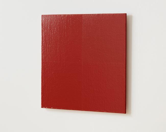 Colour light (red oxide) by Simon Morris contemporary artwork