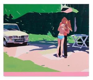 Claire and Her Boyfriend by Guy Yanai contemporary artwork